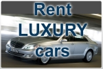 Luxury car rental for special events